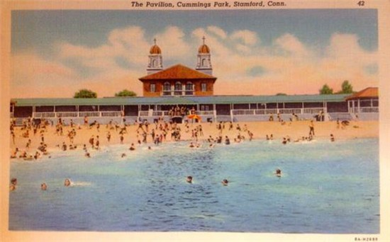 Antique Postcard of the Cummings Park Pavilion (undated)